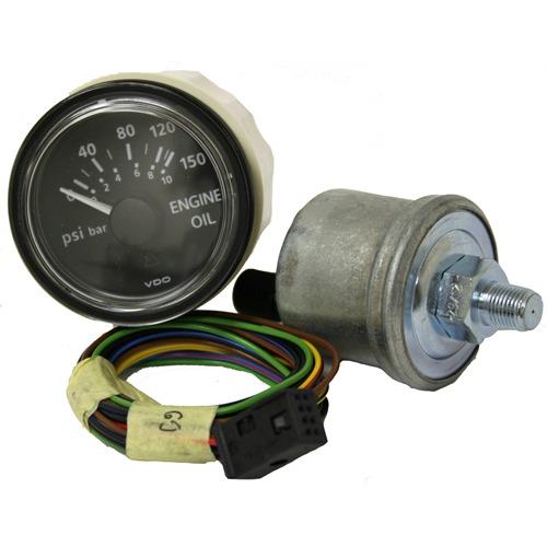 VDO Viewline 150 PSI//10 Bar Oil Pressure Gauge 12//24V Use Sender